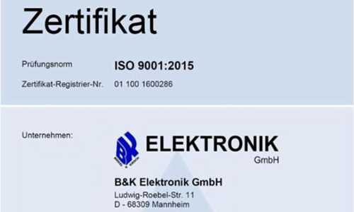iso9001 2015 ger